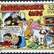 UNITED STATES OF AMERIC- CIRC1995: stamp printed in USdedicated to comic strip classics, shows katzenjammer kids, circ1995 — Stock Photo #10224399