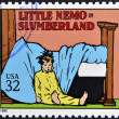 UNITED STATES OF AMERICA - CIRCA 1995: A stamp printed in USA dedicated to comic strip classics, shows Little Nemo in Slumberland, circa 1995 — Stock Photo