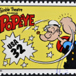 UNITED STATES OF AMERIC- CIRC1995: stamp printed in USdedicated to comic strip classics, shows Popeye, circ1995 — Stock Photo #10224419