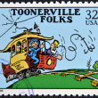 UNITED STATES OF AMERICA - CIRCA 1995: A stamp printed in USA dedicated to comic strip classics, shows Toonerville folks, circa 1995 — Stock Photo