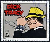 UNITED STATES OF AMERICA - CIRCA 1995: A stamp printed in USA dedicated to comic strip classics, shows Tracy, circa 1995 — Stock Photo