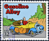 UNITED STATES OF AMERICA - CIRCA 1995: A stamp printed in USA dedicated to comic strip classics, shows Gasoline Alley, circa 1995 — Stock Photo