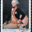 SPAIN - CIRCA 1996: A stamp printed in Spain shows General Don Antonio Ricardos by Francisco de Goya, circa 1996 — Stock Photo