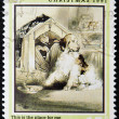 JERSEY - CIRCA 1991: A stamp printed in Jersey dedicated to Centenary of the publishing of 'PETER PAN', circa 1991 — Stock Photo