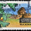 MEXICO - CIRC1997: stamp printed in Mexico dedicated to Yucatan, circ1997 — Stock Photo #10712652