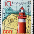 Lighthouse Leuchtturm Buk 1878 — Stock Photo