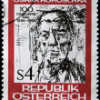Oscar Kokoschka drawing, — Stock Photo