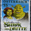 ������, ������: Stamp with Shrek