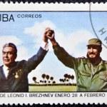 ������, ������: Leonid Brezhnev and Fidel Castro