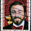 Luciano Pavarotti, famous tenor — Stock Photo