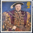 King Henry VIII — Stock Photo