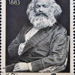 Постер, плакат: Karl Marx portrait