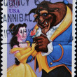 Disney Characters, Beauty and the Beast — Stock Photo