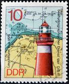 Lighthouse Leuchtturm Buk 1878 — Stock Photo