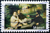 """The Luncheon on the Grass"" by Edouard Manet — Stock Photo"