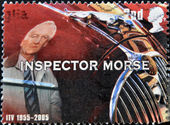 Great Britain shows inspector Morse — Stock Photo