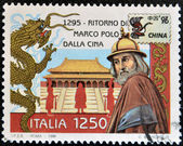 Marco Polo's return from China — ストック写真