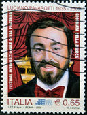 Luciano Pavarotti, famous tenor — Stock Photo