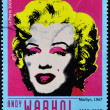 Marilyn Monroe by Andy Warhol — Stock Photo
