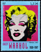 Marilyn Monroe by Andy Warhol — 图库照片
