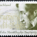 Постер, плакат: Felix Mendelssohn Bartholdy