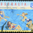 Stamp printed in Australidedicated to lifesaving, education — Stock Photo #9181048