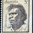 Albert Namatjira, aborigine — Stock Photo