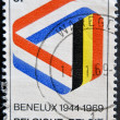 25 years of the Benelux — Foto de Stock