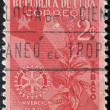 Stock Photo: CUB- CIRC1940: stamp printed in Cubdedicated to plant to snuff, circ1940