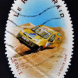 FRANCE - CIRCA 2005: A stamp printed in France dedicated to the rallies, circa 2005 — Stock Photo