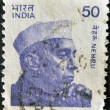 Jawaharlal Nehru — Stock Photo #9181490