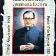 Saint Josemaria Escriva de Balaguer was a Roman Catholic priest from Spain who founded Opus Dei — Stock Photo