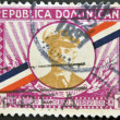 DOMINICAN REPUBLIC - CIRCA 1935: A stamp printed in Dominican Republic shows President Trujillo, circa 1935 — Stock Photo
