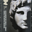 Stock Photo: UNITED KINGDOM - CIRC2003: stamp printed in Great Britain shows Alexander great, circ2003