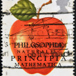Philosophiae Naturalis PrincipiMathematica, Sir Isaac Newton — Stock Photo #9181901