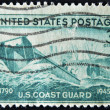 USA - CIRCA 1945: A stamp printed in the USA showing U.S. Coast Guard, circa 1945 — Stock Photo