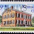 USA - CIRCA 1972: A stamp printed in the USA showing Kentucky Home State Park circa 1972 — Stock Photo