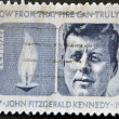 Portrait John Fitzgerald  Kennedy — Stock Photo