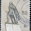 USA - CIRCA 1968 : A stamp printed in the USA shows Leif Erikson, circa 1968 — Stock Photo
