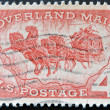 Celebrating 100 years of overland mail - Stock Photo