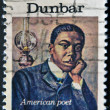 Paul Laurence Dunbar, American Poet — Stock Photo