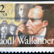 Swedish humanitarian Raoul Wallenberg, — Stock Photo
