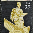 Stock Photo: Stamp printed in USdedicated to House of Representatives