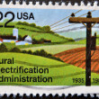 Rural Electrification Administration - Stock Photo