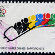 XI Olympic Winter Games, Sapporo 1972 — Foto Stock