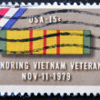 Stock Photo: Honoring Vietnam veterans