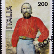ITALY - CIRCA 1982: A stamp printed in Italy shows Garibaldi, circa 1982 — Stock Photo #9183199