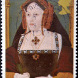 Catherine of Aragon, wife of king Henry VIII — Stock Photo #9183257