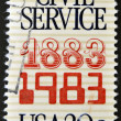 100th anniversary of the Civil Service - Stock Photo