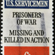 Honor soldiers who are prisoners of war and missing and killed action - Stock Photo